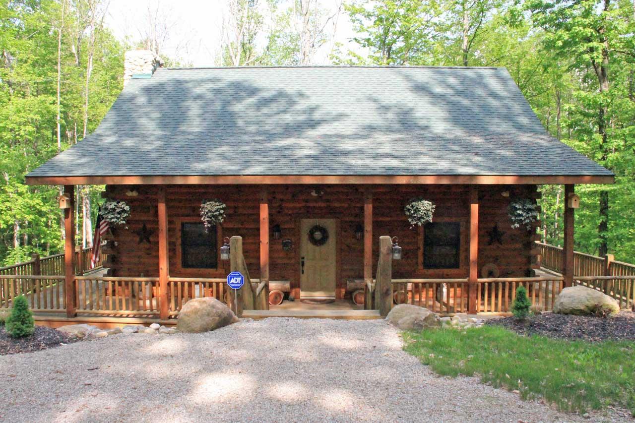 Floor plans l a horn custom log homes logan ohio for Unique log homes