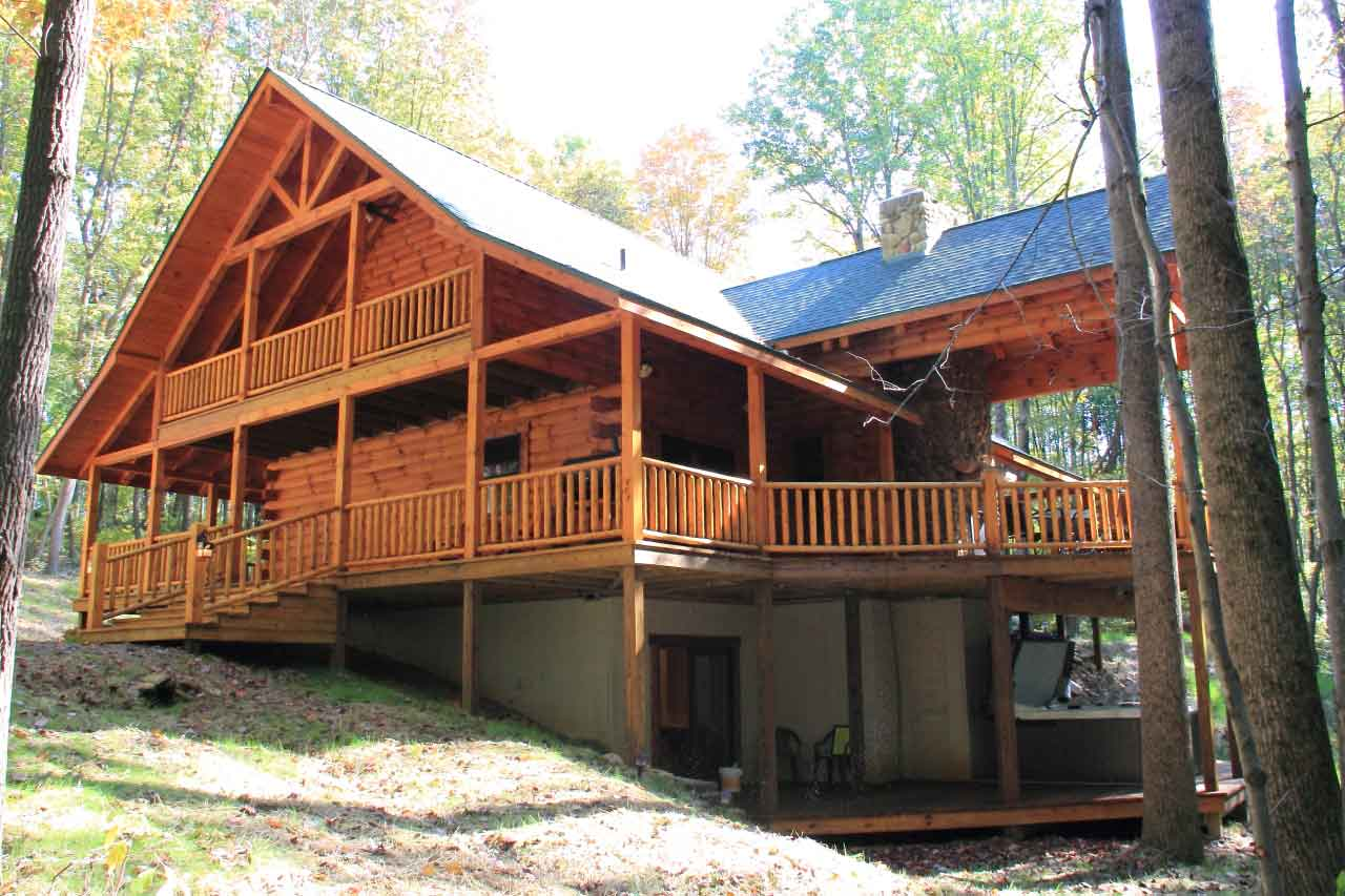 floor plans l a horn custom log homes logan ohio